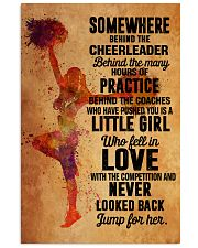 2 cheer - somewhere behind 11x17 Poster front