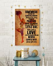 2 cheer - somewhere behind 11x17 Poster lifestyle-holiday-poster-3