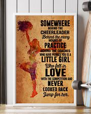 2 cheer - somewhere behind 11x17 Poster lifestyle-poster-4