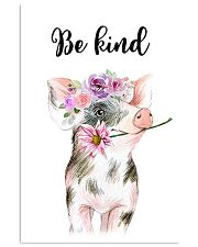 PIG BE KIND POSTER 11x17 Poster front