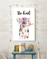 PIG BE KIND POSTER 11x17 Poster lifestyle-holiday-poster-3