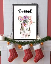 PIG BE KIND POSTER 11x17 Poster lifestyle-holiday-poster-4