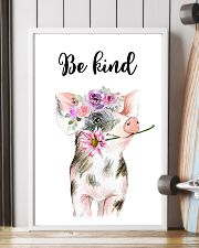 PIG BE KIND POSTER 11x17 Poster lifestyle-poster-4