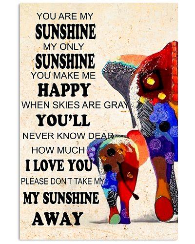 Elephants - you are my sunshine
