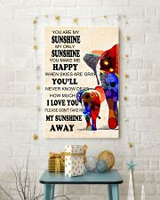Elephants - you are my sunshine 16x24 Poster lifestyle-holiday-poster-3