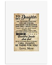 TO MY DAUGHTER 16x24 Poster front