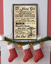 TO MY Nurse Girl dad 16x24 Poster lifestyle-holiday-poster-4