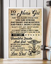 TO MY Nurse Girl dad 16x24 Poster lifestyle-poster-4