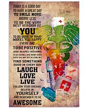 NURSE- TODAY IS A GOOD DAY POSTER 11x17 Poster front