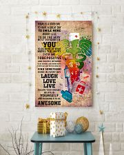 NURSE- TODAY IS A GOOD DAY POSTER 11x17 Poster lifestyle-holiday-poster-3