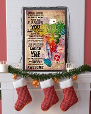 NURSE- TODAY IS A GOOD DAY POSTER 11x17 Poster lifestyle-holiday-poster-4