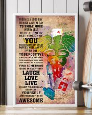 NURSE- TODAY IS A GOOD DAY POSTER 11x17 Poster lifestyle-poster-4