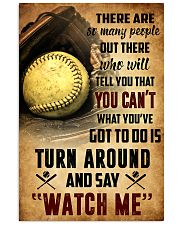 SOFTBALL - THERE ARE SO MANY PEOPLE POSTER SKY 11x17 Poster front
