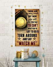 SOFTBALL - THERE ARE SO MANY PEOPLE POSTER SKY 11x17 Poster lifestyle-holiday-poster-3