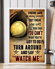 SOFTBALL - THERE ARE SO MANY PEOPLE POSTER SKY 11x17 Poster lifestyle-poster-4