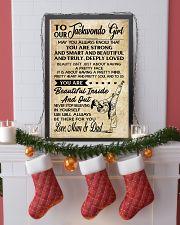 2 TO MY Taekwondo Girl - Mum - Dad 16x24 Poster lifestyle-holiday-poster-4