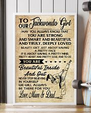 2 TO MY Taekwondo Girl - Mum - Dad 16x24 Poster lifestyle-poster-4