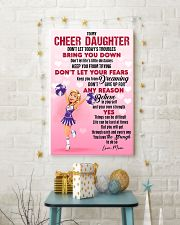 CHEER DAUGHTER - DON'T LET TODAY'S TROUBLES POSTER 11x17 Poster lifestyle-holiday-poster-3
