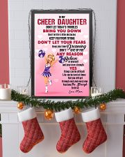 CHEER DAUGHTER - DON'T LET TODAY'S TROUBLES POSTER 11x17 Poster lifestyle-holiday-poster-4