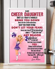 CHEER DAUGHTER - DON'T LET TODAY'S TROUBLES POSTER 11x17 Poster lifestyle-poster-4