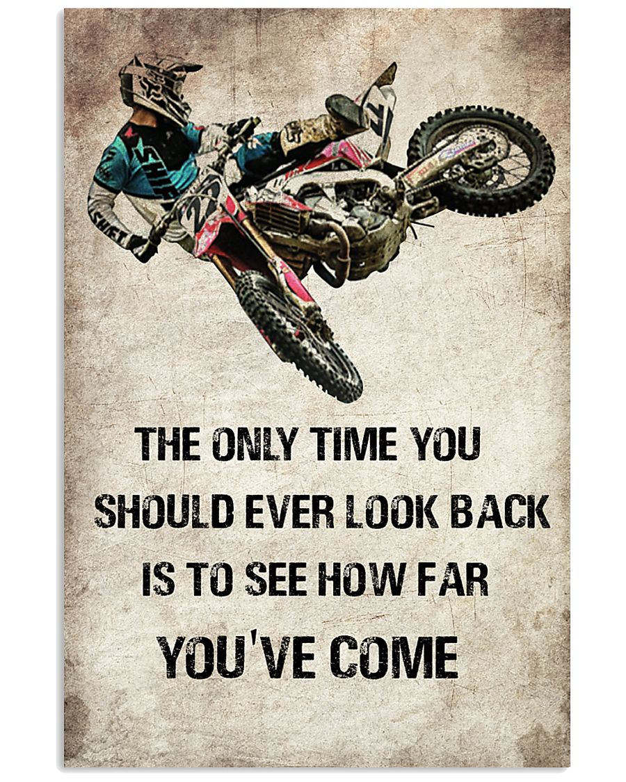 MOTOCROSS- THE ONLY TIME YOU 11x17 Poster