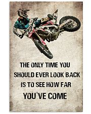 MOTOCROSS- THE ONLY TIME YOU 11x17 Poster front