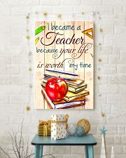 I BECAME A TEACHER BECAUSE YOU LIFE POSTER 16x24 Poster lifestyle-holiday-poster-3