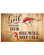 GYMNASTICS - GOD IS WITHIN HER 17x11 Poster front