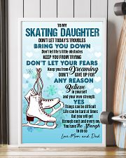 SKATING - DON'T LET TODAY'S TROUBLES POSTER KD 11x17 Poster lifestyle-poster-4