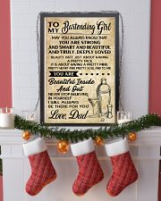 TO MY BARTENDING GIRL DAD 16x24 Poster lifestyle-holiday-poster-4