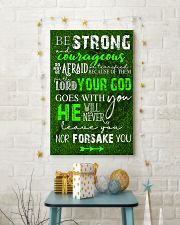 BE STRONG COURAGEOUS DO NOT BE AFRAID GOLF POSTER  16x24 Poster lifestyle-holiday-poster-3