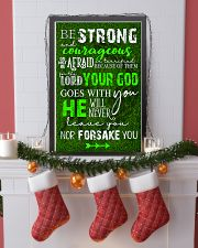 BE STRONG COURAGEOUS DO NOT BE AFRAID GOLF POSTER  16x24 Poster lifestyle-holiday-poster-4
