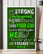BE STRONG COURAGEOUS DO NOT BE AFRAID GOLF POSTER  16x24 Poster lifestyle-poster-4
