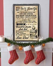 TO MY PRE-K TEACHER GIRL DAD 16x24 Poster lifestyle-holiday-poster-4