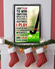 I DON'T PLAY TO WIN COMPETITIONS - HOCKEY 24x36 Poster lifestyle-holiday-poster-4