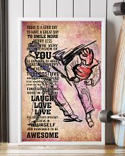 3-teawondo- TODAY IS A GOOD DAY POSTER BOY VECTOR  11x17 Poster lifestyle-poster-4