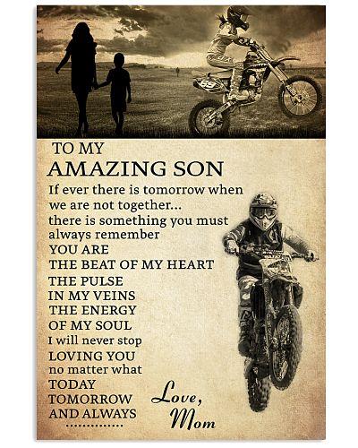 21 motocross- to my amazing son- mom