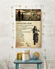 21 motocross- to my amazing son- mom 11x17 Poster lifestyle-holiday-poster-3
