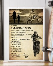 21 motocross- to my amazing son- mom 11x17 Poster lifestyle-poster-4