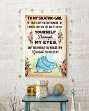 TO MY SKATING GIRL - YOU ARE TO ME 11x17 Poster lifestyle-holiday-poster-3