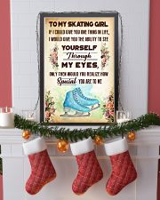 TO MY SKATING GIRL - YOU ARE TO ME 11x17 Poster lifestyle-holiday-poster-4