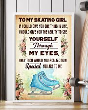 TO MY SKATING GIRL - YOU ARE TO ME 11x17 Poster lifestyle-poster-4