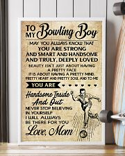 TO MY BOWLING BOY - MOM 16x24 Poster lifestyle-poster-4