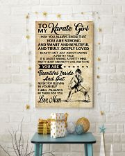 TO MY Karate Girl 11x17 Poster lifestyle-holiday-poster-3