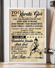 TO MY Karate Girl 11x17 Poster lifestyle-poster-4