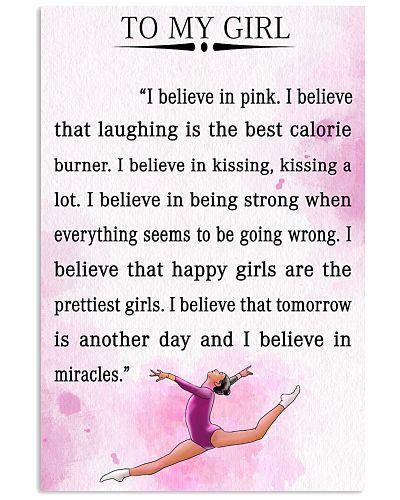 gymnastics - I BELIEVE IN PINK