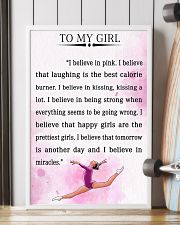 gymnastics - I BELIEVE IN PINK 16x24 Poster lifestyle-poster-4