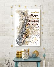 Saxophone Medicine The Heart Poster 11x17 Poster lifestyle-holiday-poster-3