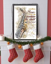 Saxophone Medicine The Heart Poster 11x17 Poster lifestyle-holiday-poster-4