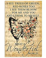 Butterfly - Wonderful World Poster SKY 11x17 Poster front